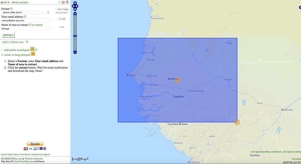 Ajouter des fonds cartes OpenStreetMap sur un GPS Garmin GPSMAP 64